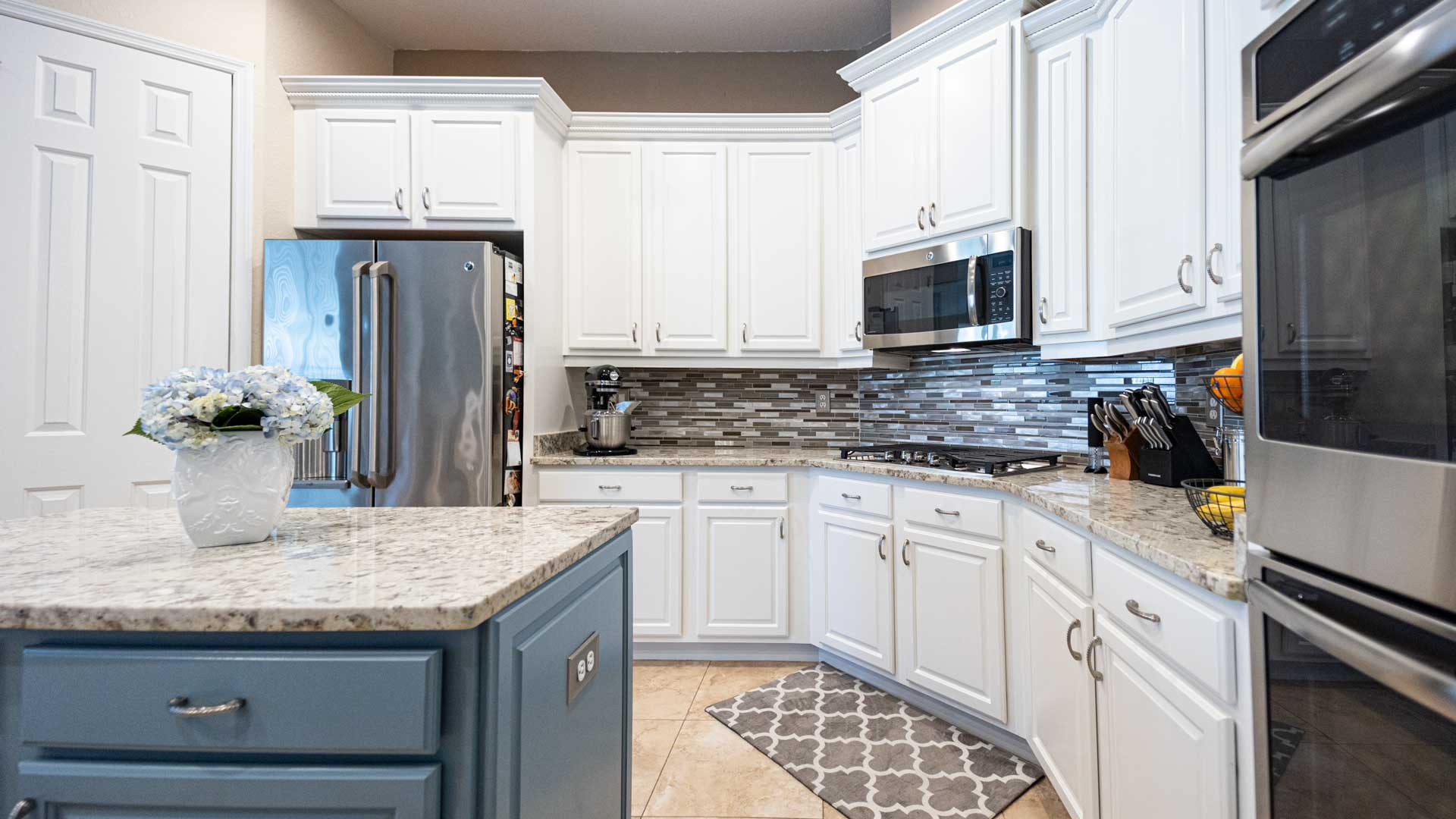 Complete kitchen remodel completed at a home in Lakeland, Florida.