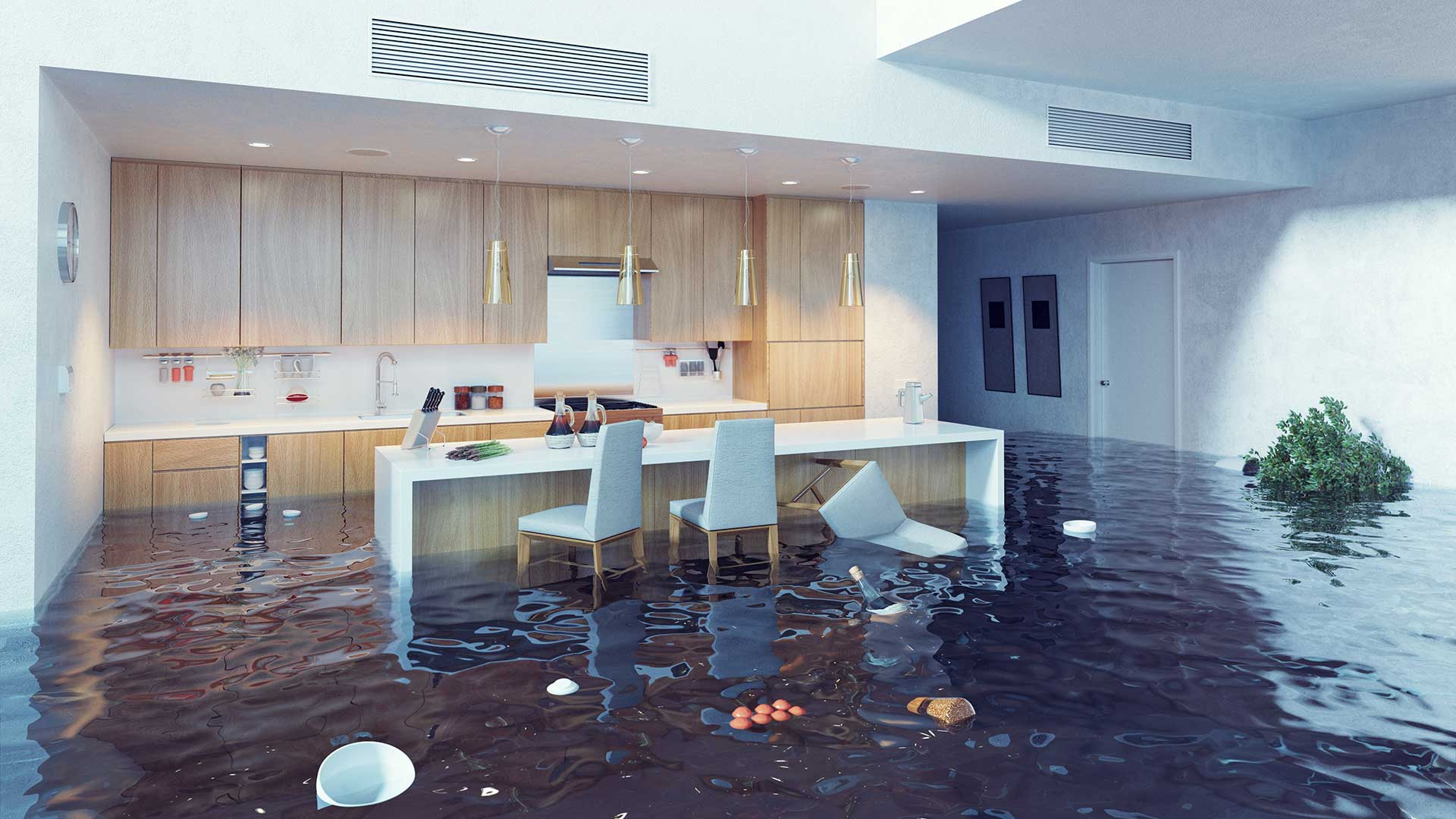 Why You Need to Restore & Remodel Your Kitchen After Flood Damage