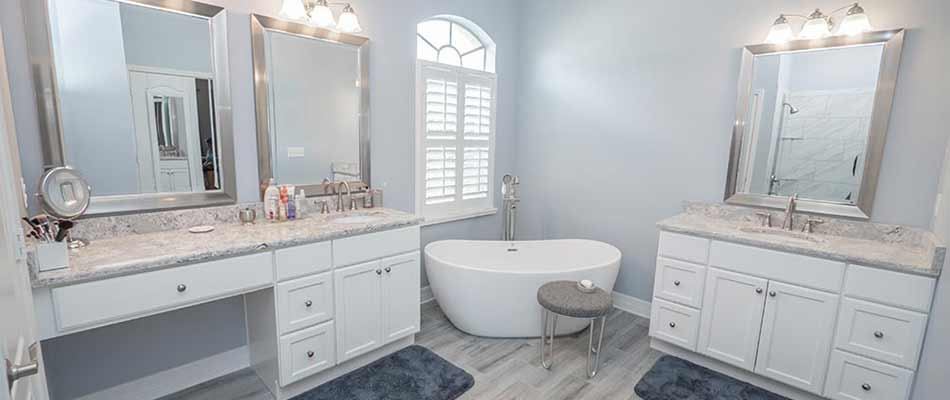 Completed remodel of the Bauer family bathroom in Wesley Chapel, FL