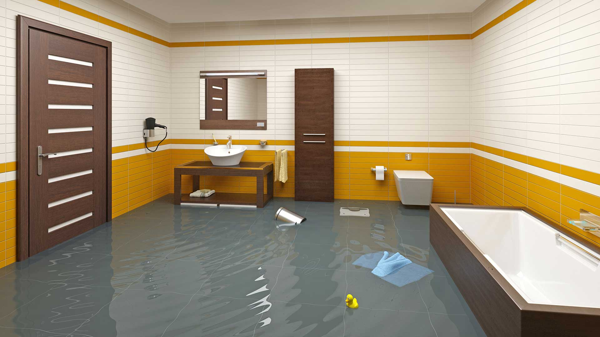 Steps to Take When Your Bathroom Floods