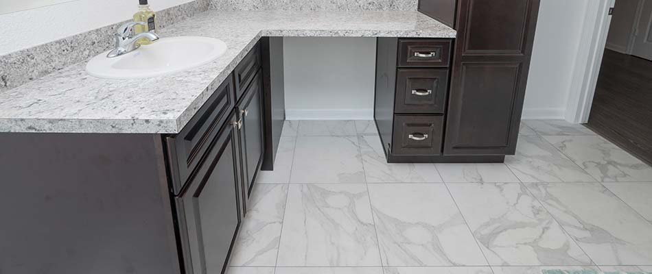 Tile is great for bathrooms in Plant City and other central Florida areas.