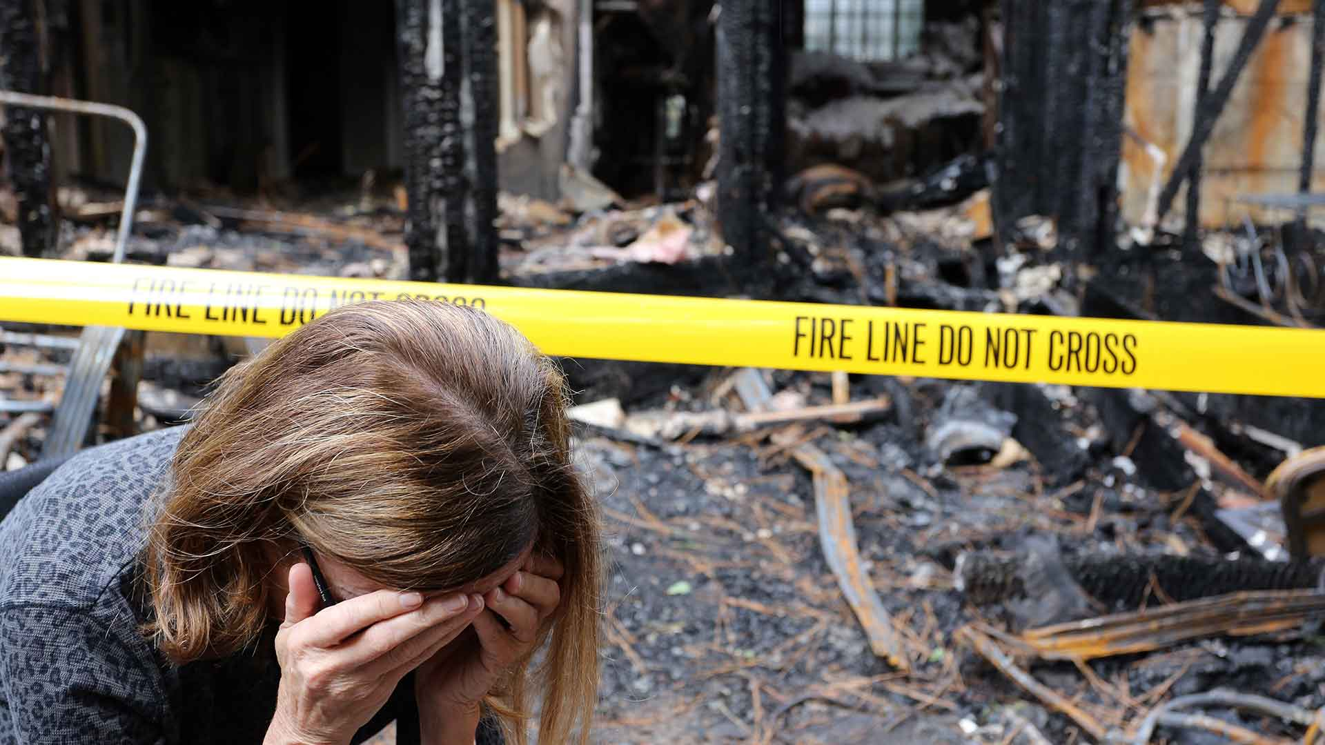 What Not to Do When Your Home Is Damaged by Fire