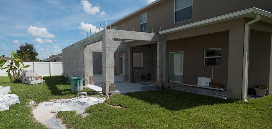 Home expansion project in Plant City, FL.