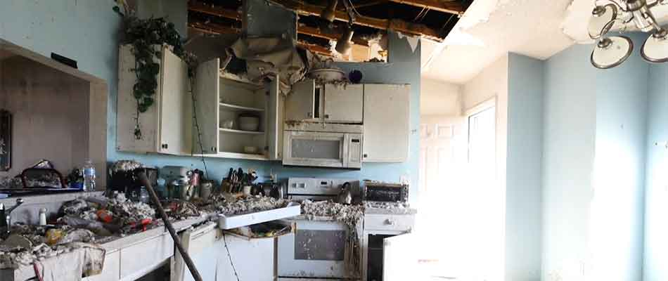 The Ranneys' fire-damaged kitchen needed to be replaced.
