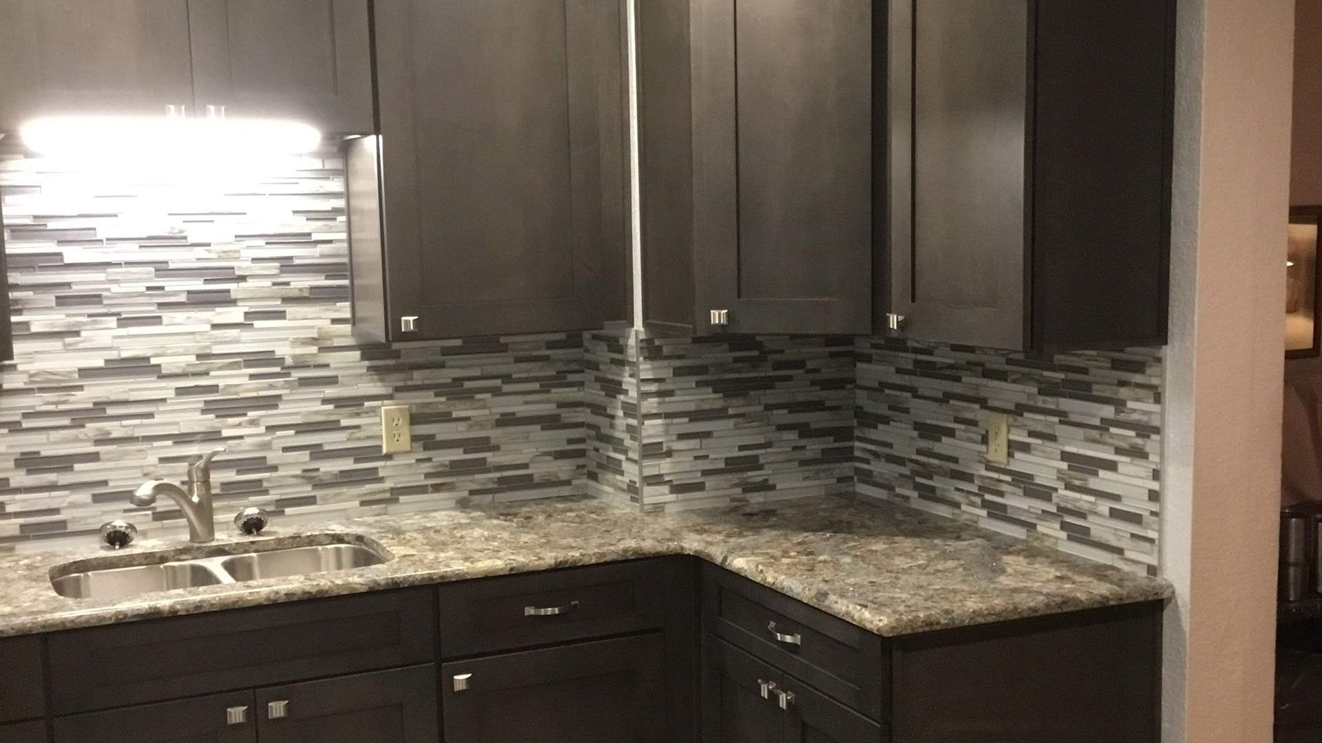 Example of a newly remodeled kitchen done by the professional team at True Builders for a homeowner in Haines City, FL.