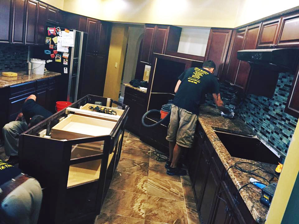 True Builders doing kitchen renovation in Winter Haven, FL.
